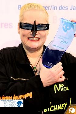 Sie wollte den Titel und hat ihn 2007 endlich bekommen: Hella von Sinnen | Offensichtlich.de