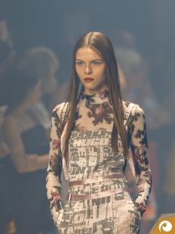 Die Models präsentierten Styles inspiriert durch die Techno & Rave Szene
