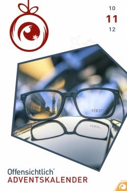 Holzbrillen Feb31st Rabatt | Offensichtlich Adventskalender 2018