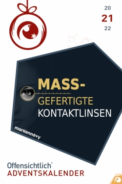 individuelle Kontaktlinsen - Kontaktlinsen nach Maß - Markennovy Offensichtlich Adventskalender-2018 Rabatt