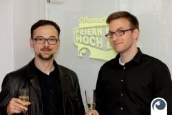 Feiern Hoch 4 mit Mateusz Hartwich von der Interessengemeinschaft Friedrichstraße