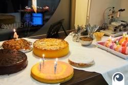Geburtstagskuchen Offensichtlich - Feiern Hoch 4