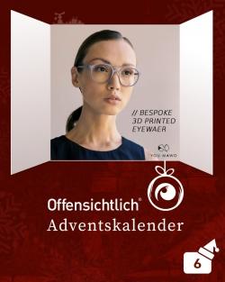 YouMawo Eyewear Brillen nach Maß | Offensichtlich Adventskalender 2019