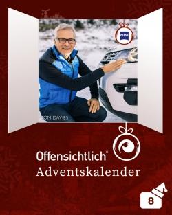Brillen nach Maß / Tom Davies / DriveSafe Brillengläser Zeiss / Angebot | Offensichtlich Adventskalender 2019