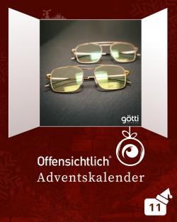 Brillen Götti Switzerland #Perspective #Dimension Offensichtlich / Angebot | Offensichtlich Adventskalender 2019
