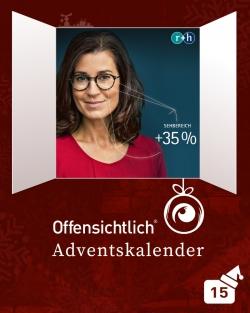 Gleitsichtgläser / Gleitsichtbrille / Rupp Hubrach Zeiss Seiko | Offensichtlich Adventskalender 2019