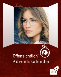 Designerbrillen Kunststoffbrillen & Titanbrillen von Markus T Temming mit 20% Rabatt / Angebot | Offensichtlich Adventskalender 2019