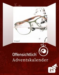 Tinpal Brillen aus Deutschland / Made in Germany / mit 20% Rabatt | Offensichtlich Adventskalender 2019