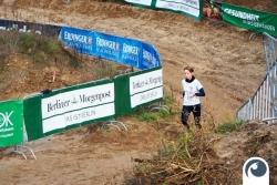 Doreen auf den letzten Meter des Cross Country Laufs | Offensichtlich.de