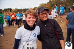 Doreen & Rita glücklich im Ziel angekommen - Herzlichen Glückwunsch | Offensichtlich.de