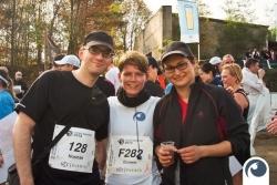 in perfekter Lauf für alle Drei | Cross Country Lauf 2013