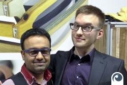 Norman trifft auch Chintu von Feb31st in London | Offensichtlich.de