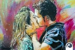 Graffiti Kissing in Oslo | Offensichtlich.de