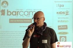 Begrüßung durch Martin Fache | Barcamp Erfurt