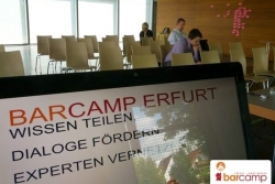 Das Motto *Wissen teilen, Dialoge fördern, Experten vernetzen*:Barcamp Erfurt