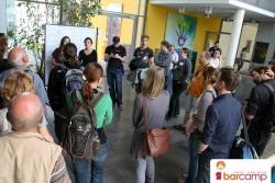Meet & Greet auf dem Barcamp Erfurt
