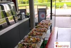 Köstlichkeiten zur Mittagspause auf dem Barcamp