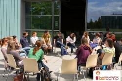 Bei schönstem Wetter - Freiluft Sessions | Barcamp Erfurt