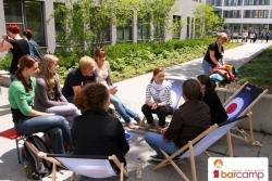Freiluft Session mit ORGA Robert | Barcamp Erfurt