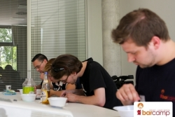 Session Perlenbügeln – analoge Pixe-Art | Barcamp Erfurt