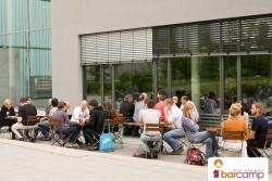 Abschiedsfeier mit Grillen und Party | Barcamp Erfurt