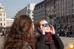 Und schon geht es los mit der Sonnenfinsternis 2015 in Berlin