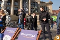 Die Sonnenfinsternis ist ein tolles Event an einem tollen Platz direkt vor dem Konzerthaus Berlin