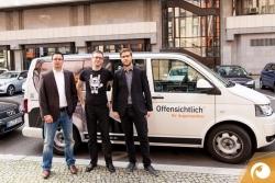 Das Offensichtlich Team & Lars Müller von Carl Zeiss auf Tour | Offensichtlich.de