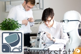 Making your glasses at our on-site workshop | Offensichtlich.de