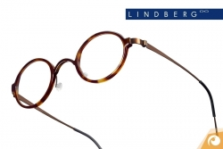 Lindberg  Brillen Acetanium Modell 1011 klassisches Design in Havannabraun | Offensichtlich Berlin