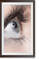 Kontaktlinsenanpassung von Offensichtlich