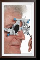Professionelle Augenprüfung von Offensichtlich