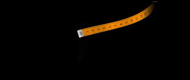 Brille nach Maß - Maßband 1
