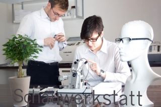 Gain an insight into our demonstration workshop | Offensichtlich - your optician