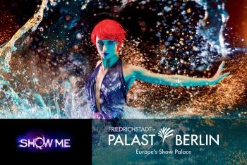 """Mit bester Sicht zu """"Show me"""" im Friedrichstadt-Palast (Foto: Robert Grischek / Friedrichstadt-Palast)"""