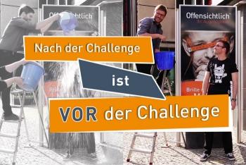 Nach der Challenge ist vor der Challenge | #IceBucketChallenge