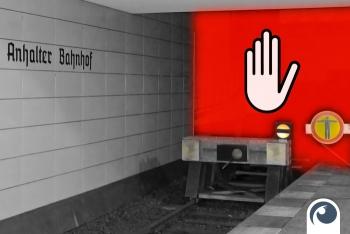 Sperrung der Nord-Süd-Bahn