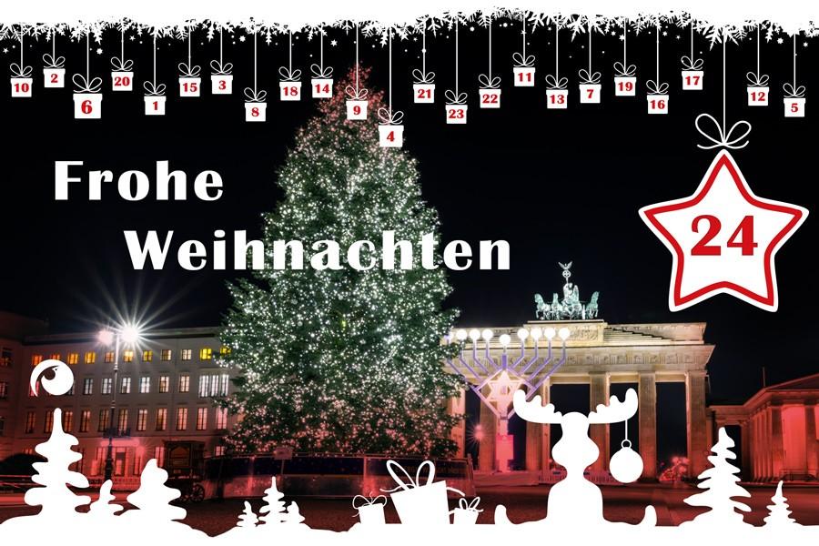 Frohe weihnachten und guten rutsch wunsche