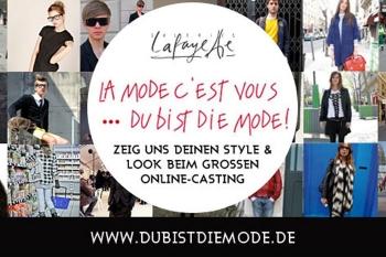 Du bist die Mode - präsentiert von Galeries Lafayette