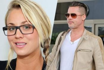Stars wir Kaley Cuoco und Brad Pitt tragen gerne Brille