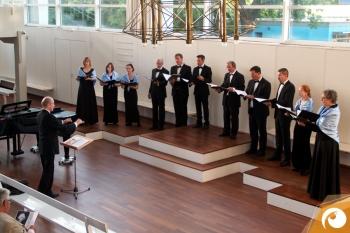 Der Mendelssohn-Kammer-Chor-Berlin im Schloss Bellevue 2015