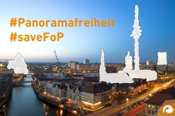 So sieht Berlin ohne Panoramerfreiheit künftig aus #SaveFoP