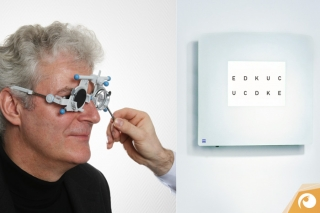 The examination of your eyes is one of our prime services | Offensichtlich.de