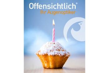 Offensichtlich - Ihr Augenoptiker feiert seinen Geburtstag