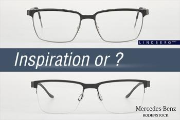 Mercedes-Benz (Rodenstock) von Lindberg Brillen inspiriert?