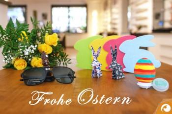 Offensichtlich wünscht Ihnen Frohe Ostern!