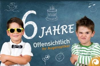 » 6 Jahre « Offensichtlich - Ihr Augenoptiker in Berlin Mitte