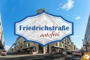 Sperrung der Friedrichstraße